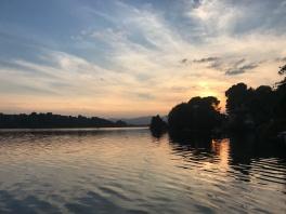 Lake Monate' Sunsest
