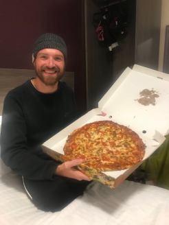When pizza is lyf!